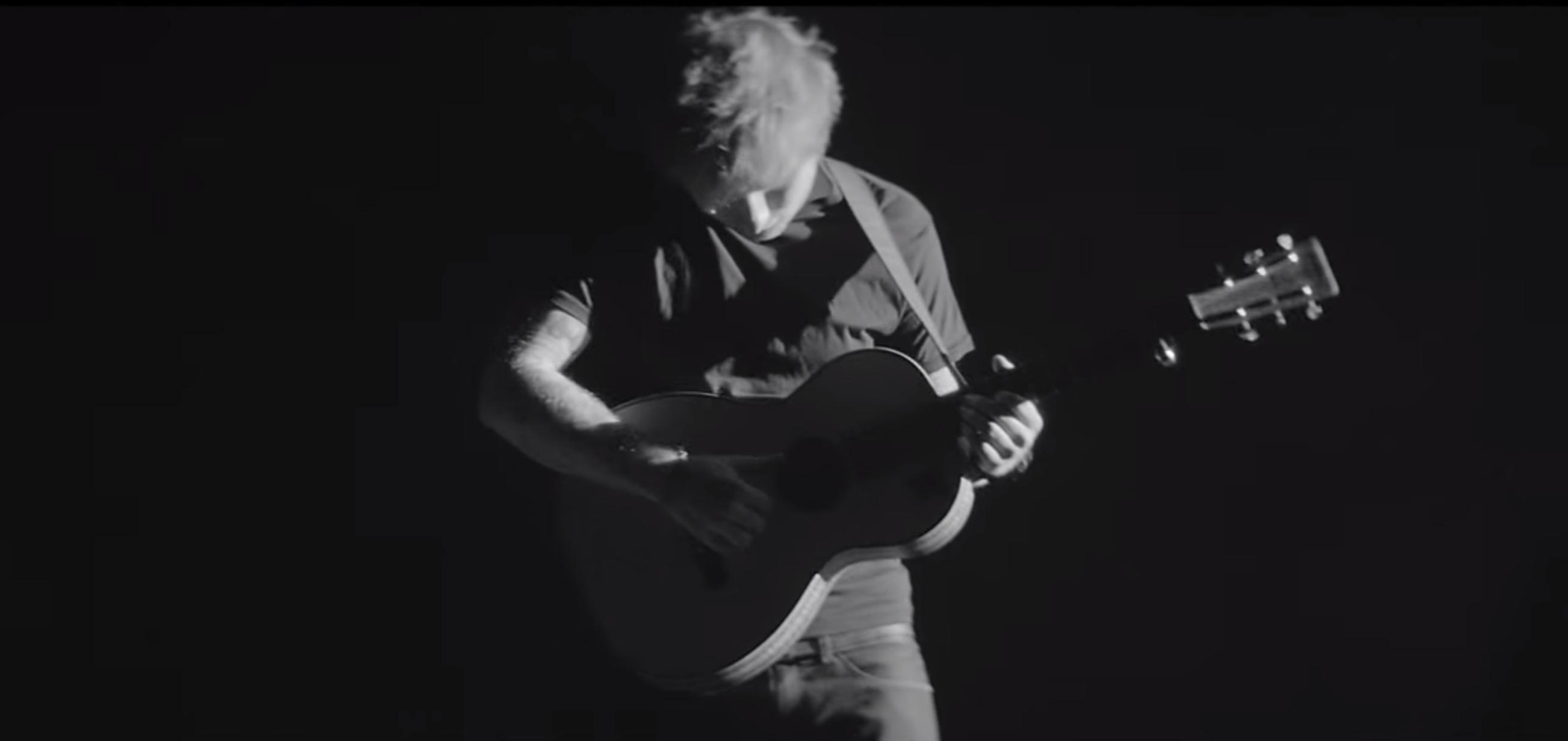 ed sheeran black and white on Tumblr